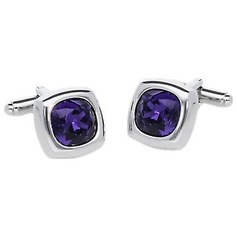 Duncan Walton Krista Cufflinks - Purple
