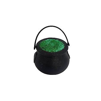 Gothic Homeware Witch's Ghastly Green Glitter Cauldron Bath Bomb