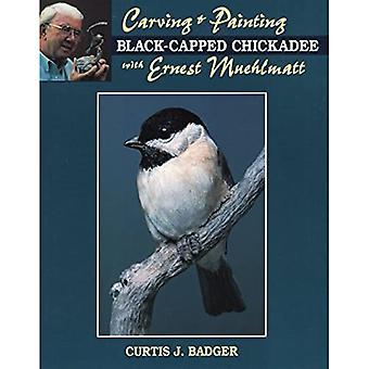 Esculpindo e pintando um Chickadee de capa preta com Ernest Muehlmatt