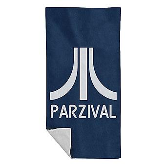 Parzival Atari Logo Ready Player One Beach Towel
