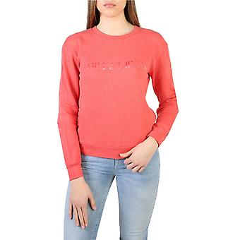 Woman long round neckline sweatshirt aj64791