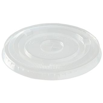 Compostable Smoothie Cup Lids with Straw Slot