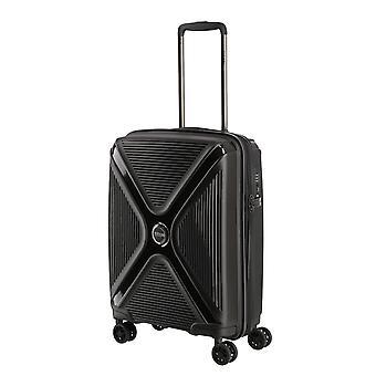 TITAN Paradoxx Handbagage Trolley S, 4 Wielen, 55 cm, 40 L, Black Uni
