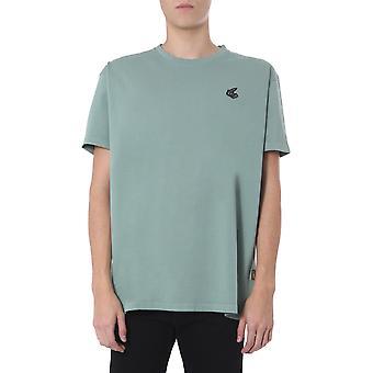 Vivienne Westwood 3701002720987m401 Heren's Green Cotton T-shirt