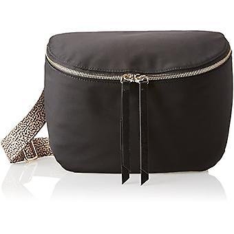 Bourbon 934240138 Women's shoulder bag (Black Op Nat) 22x15x6 cm (W x H x L)