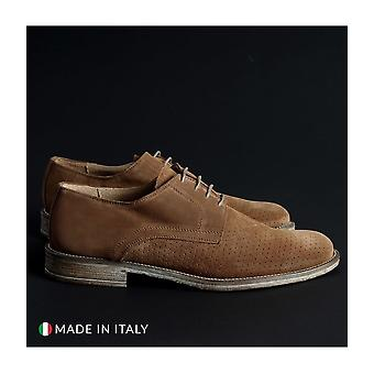 SB 3012 - Shoes - Lace-up shoes - 06-CAMOSCIO-B-TABACCO - Men - peru - EU 41