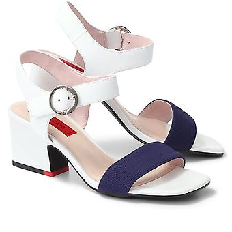 Staccato Womens Heeled Leather Sandals