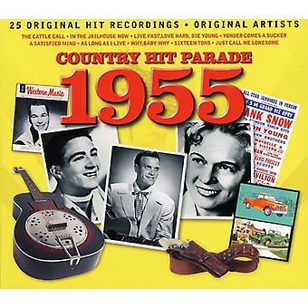 Country Hit Parade-1955 [CD] USA import