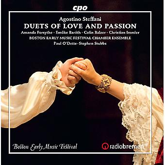 Steffani / Forsythe / Stubbs - Duets of Love & Passion [CD] USA import