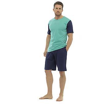 ソックス ウウェア メンズ ジャージー コットン 半袖 トップ パジャマ