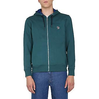 Ps By Paul Smith M2r360rze2007532 Men's Green Cotton Sweatshirt