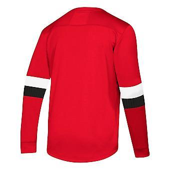 Adidas Nhl Ottawa Senators Platinum Ls Jersey Tee