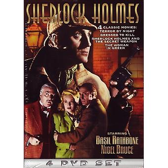 Sherlock Holmes - Terror by Night/Dressed to Kill/and the Secret Wea [DVD] USA import