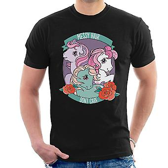 My Little Pony Messy Hair Dont Care Men-apos;s T-Shirt