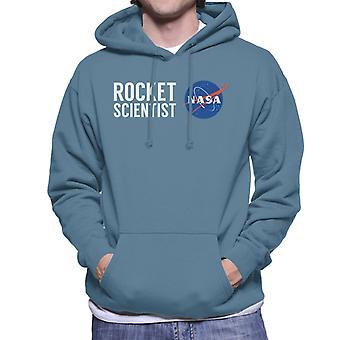 NASA-Rakete Wissenschaftler Herren Sweatshirt mit Kapuze