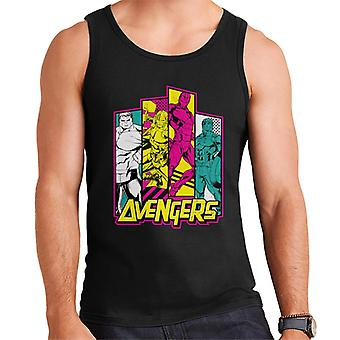 Marvel Avengers 80s Tiles Men's Vest