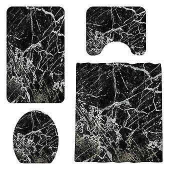 4x Textiles for Bathroom fittings - Black
