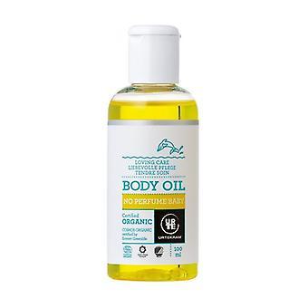 No Perfume Baby Body Oil 100 ml of oil