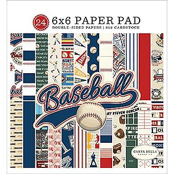 Carta Bella Baseball 6x6 tuuman paperityyny