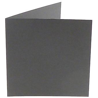 Papicolor dunkelgrau Sqaure Doppelkarten