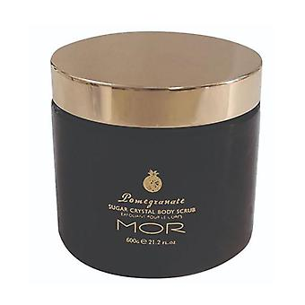 Mor Sugar Crystal Body Scrub 600G Pomegranate