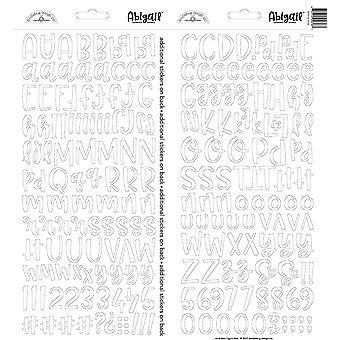 Doodlebug Design Lily Valkoinen Abigail Tarrat