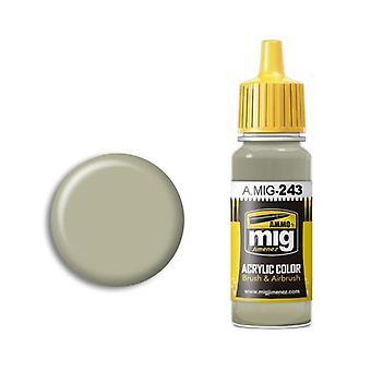 Ammo by Mig Acrylic Paint - A.MIG-0243 Sky Type S (BS 210) (17ml)