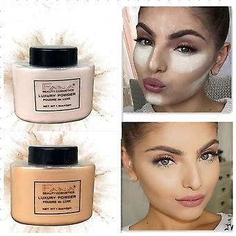 Smooth Loose Powder Oil Control Makeup Concealer For Beauty Highlighting With
