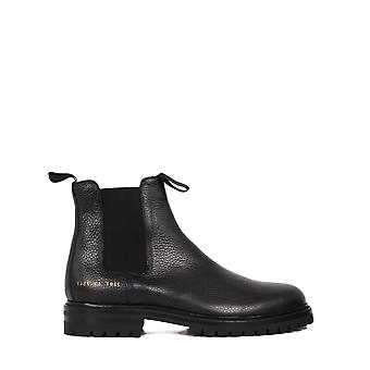 Common Projects 22877547 Men's Black Leather Enkellaarsjes