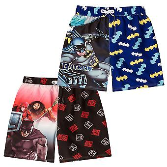 DC Comics Swim Surf Suit Toddler Boys Kids Batman Superman OFFICIAL Gift