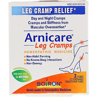 Boiron, Arnicare Leg Cramps, 3 Tubes, 11 Chewable Tablets Per Tube