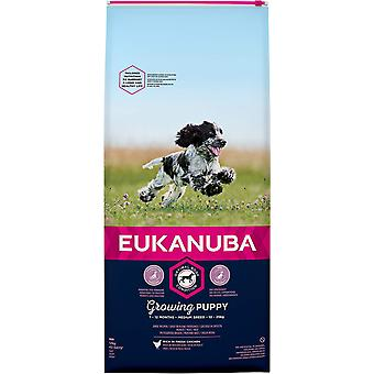 Eukanuba Growing Puppy Medium Breed Chicken - 12kg