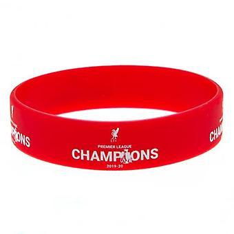Bracelet en silicone des champions de La Premier League de Liverpool