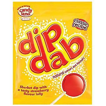 Barratt Dip Dab Strawberry Lolly, 50 x 23g