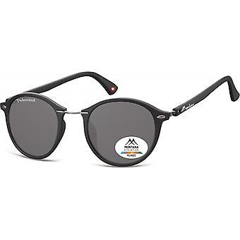 Sunglasses Unisex panto matt black (MP22)