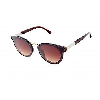 Gafas de sol marrón para mujer (20-033)