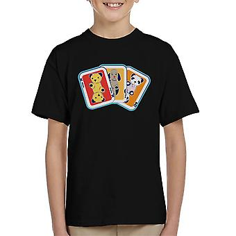 Sooty Playing Card Trio Kid's T-Shirt