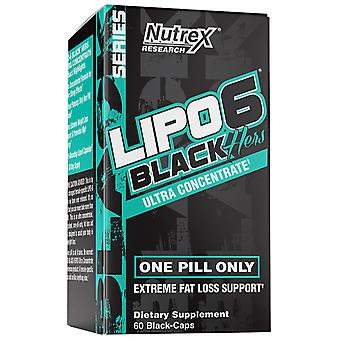 Nutrex Research Lipo-6 Black Hers 60 Caps