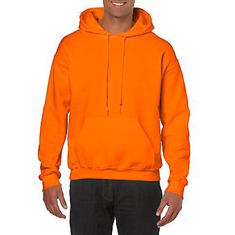 GILDAN G18500 Heavy Hooded Sweatshirt in Safety Orange