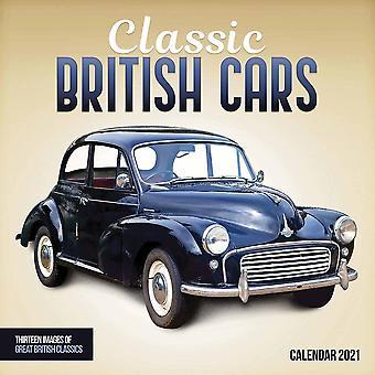 Otter House 2021 Wall Calendar - Classic British Cars