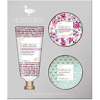 Baylis & Harding The Fuzzy Duck Cotswold Floral 3 piece set