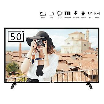 China Qled Android Tv 50 pulgadas 4k Uhd televisión pantalla plana Led Smart Tv