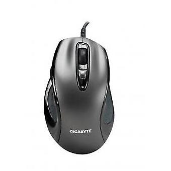Gigabyte M6800 Dual Lens Gaming Mouse [USB 1600DPI 3000FPS 20G 1,5 m zwart]