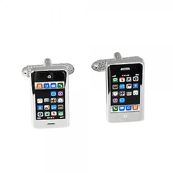 Ties Planeta Smart Phone Novelty Cufflinks