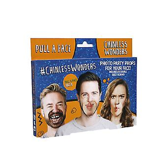Chinless Wonders Pull A Face Mask (Pack of 10)