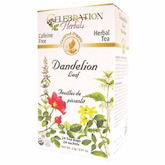 Celebration Herbals Organic Dandelion Leaf Tea, 24 Bags