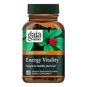 Gaia Herbs Energy Vitality, 60 Caps