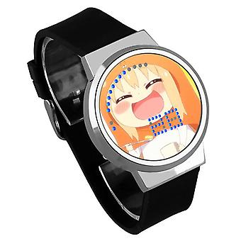 Impermeable Luminoso LED Digital Touch Reloj - himono onna #18