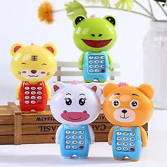 Söpö kartonki vauvan elektroninen puhelin, varhainen koulutus oppiminen lelu - Kaunis