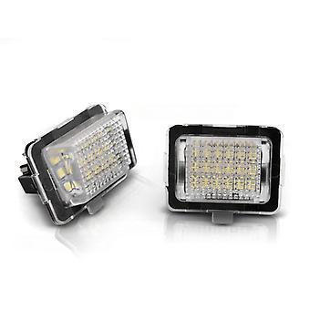 License plate lighting LED MERCEDES W204 W212 C207 C216 W221 LED